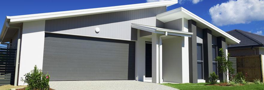 Porte de garage motorisée