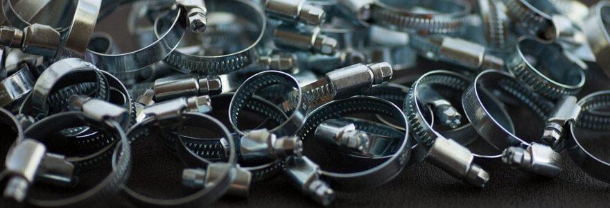 colliers de fixation